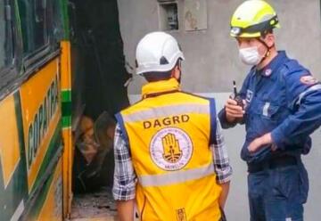 Roban a bomberos de Medellín cuando atendían una emergencia