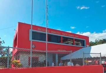 Entregan a Bomberos estación totalmente renovada