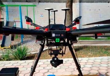 Capacitan a Bomberos de Matehuala en manejo de los drones