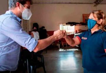 Yacyretá firma un convenio de cooperación con los Bomberos de Candelaria