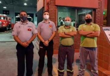 Quilmes: Bomberos de Ezpeleta reanimaron a una beba