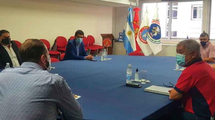 Reunión del CUO con el Ministerio de Seguridad