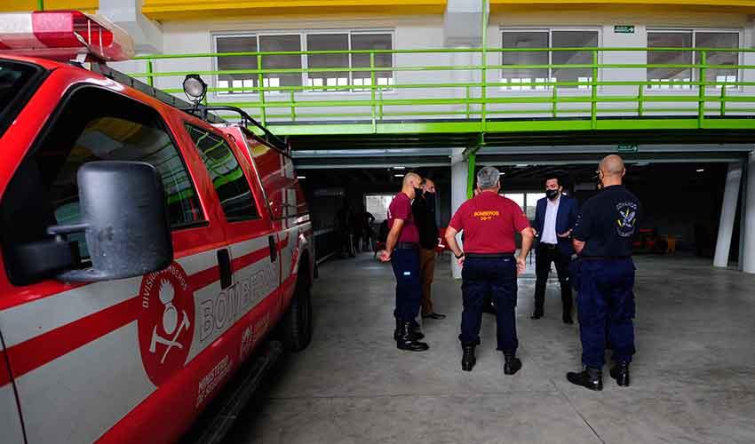 Nuevo cuartel de Bomberos de la Policía de San Luis