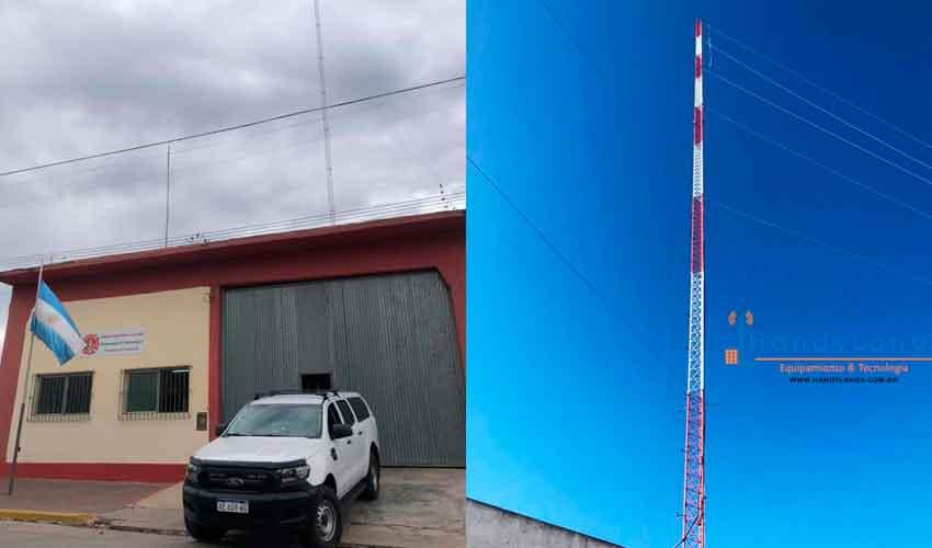 Bomberos de Olavarría renueva su sistema de comunicaciones