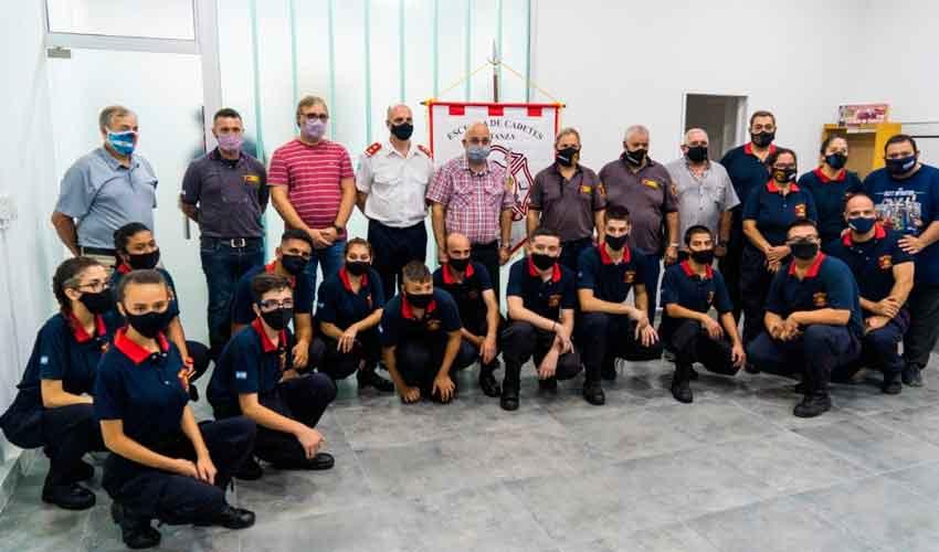 Matanza: reinauguración de la Escuela de Cadetes