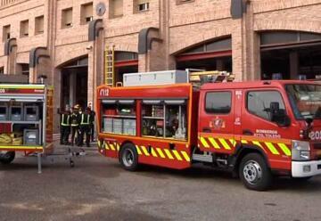 Los bomberos de Toledo incorporan un nuevo vehículo ligero