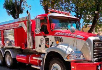 Bomberos de Constitución cuenta con un moderno camión aljibe