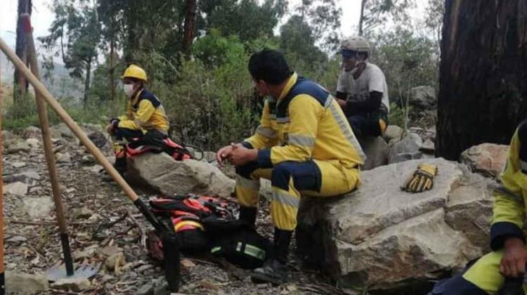 Roban herramientas a bomberos de GEOS