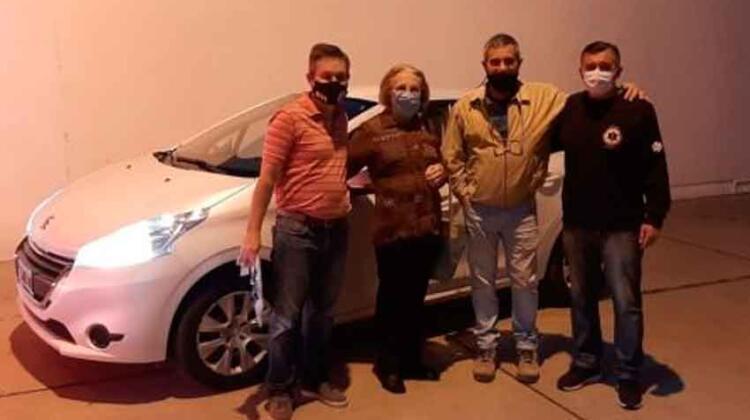Donaron un automóvil a los Bomberos Voluntarios de Laboulaye