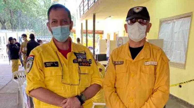 Nuevo presidente de los Bomberos Voluntarios del Paraguay