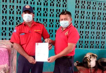 Cuerpo de Bomberos recibe importante donativo