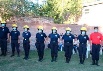 80 nuevos bomberos voluntarios en La Pampa