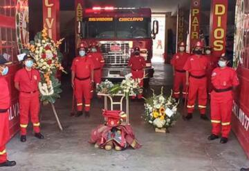 Fallece exjefe de la Compañía de Bomberos por la COVID-19