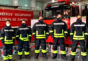 Bomberos de Lomas de Zamora incorporaron nuevos Equipos de Protección