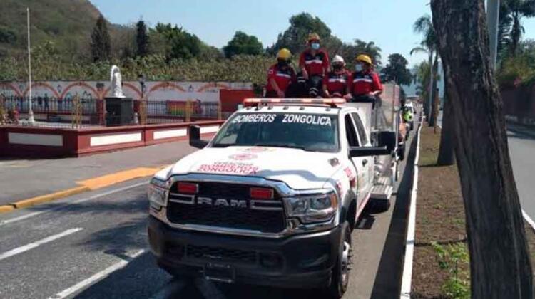 Bomberos Voluntarios de la Sierra de Zongolica no reciben apoyo