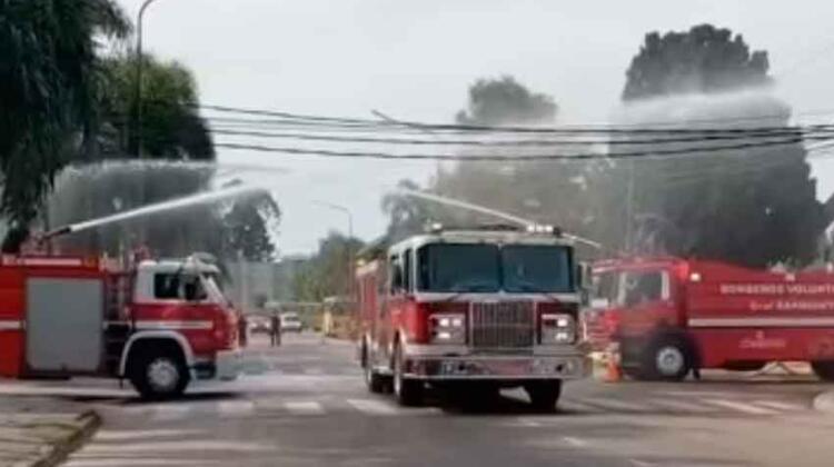 Bomberos de General Sarmiento - San Miguel con nuevo autobomba