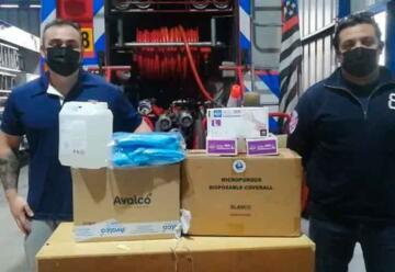 Bomberos de Rancagua hace nueva entrega de protección personal