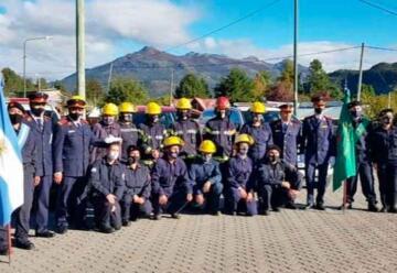 Carrenleufú: Nuevo cuerpo de Bomberos Voluntarios