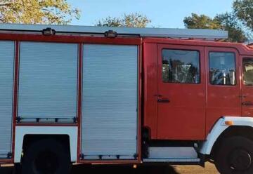 Los bomberos de Firmat presentaron su nueva autobomba