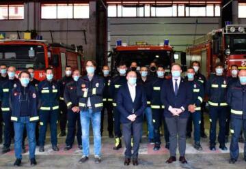 Una mujer se incorpora por primera vez al cuerpo de bomberos
