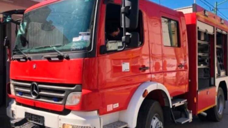 Nuevo vehículo para Bomberos de General Rodríguez