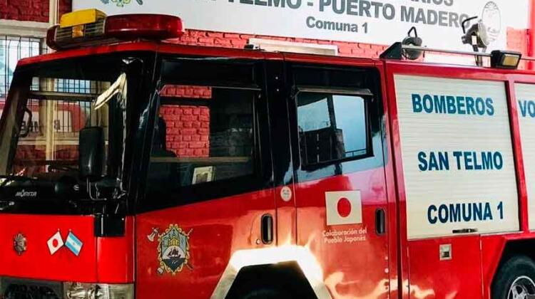 Autobomba de los Bomberos de San Telmo – Puerto Madero