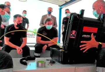 Comienza a funcionar la escuela de bomberos de Murcia