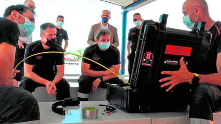 Comienza a funcionar la escuela municipal de bomberos de Murcia
