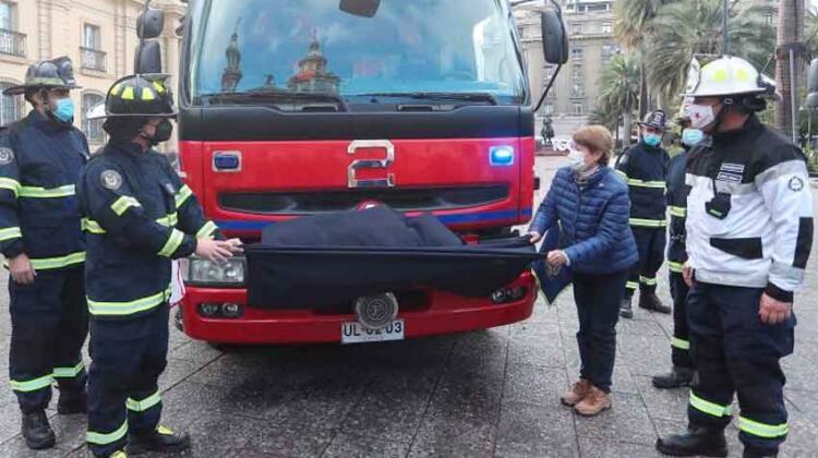 Carro de Bomberos reacondicionado para incendios patrimoniales