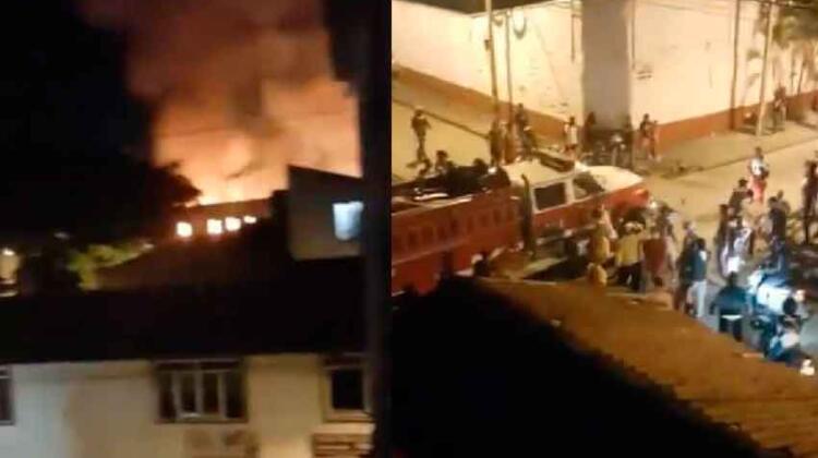 Sujetos no permitieron que bomberos apagaran el incendio