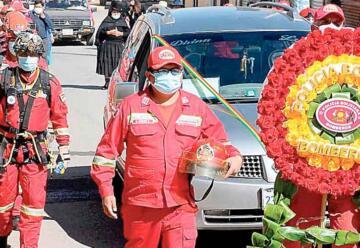 Fallece bombero que se contagió con COVID en un rescate