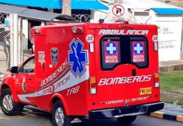 Robaron ambulancia de Bomberos mientras atendían emergencia