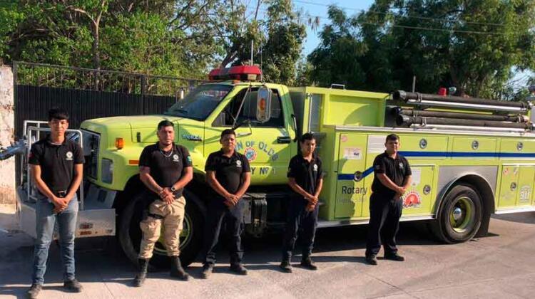 Bomberos de Escuinapa trabaja con camión prestado