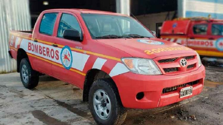 Bomberos Voluntarios recuperaron unidad de rescate