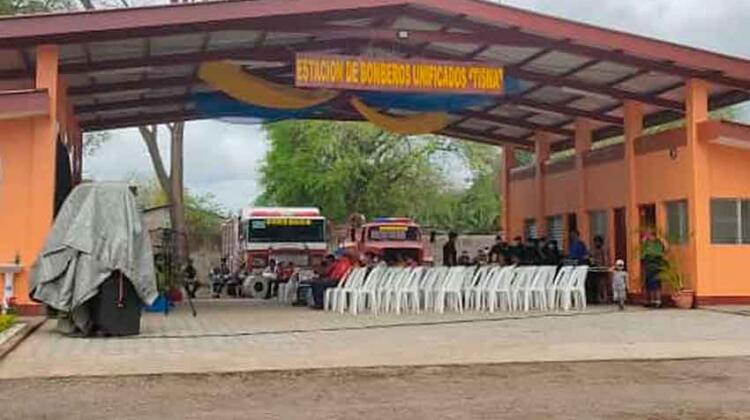 Tisma cuenta con nueva estación de bomberos