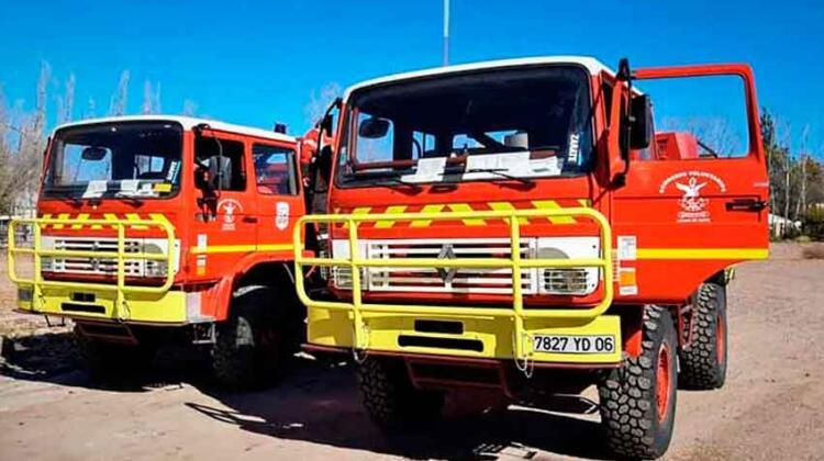 Bomberos Voluntarios de Luján sumaron dos camiones