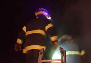 Robaron a los Bomberos cuando apagaban un incendio