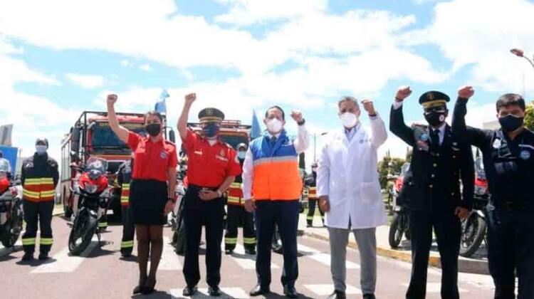 El Gobierno confirmó la vacunación de 5.319 bomberos