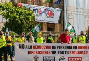 Bomberos denuncian «presiones» por parte del Ayuntamiento