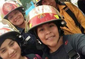 «La mujer bombero tiene el mismo rol que el del hombre»