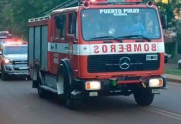 Bomberos de Puerto Piray adquirieron una nueva autobomba