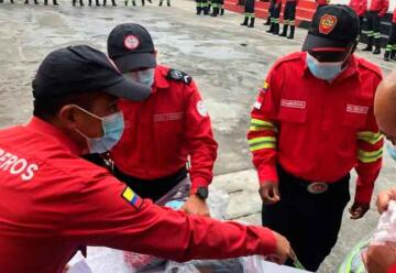 Cuerpo de Bomberos de Ibarra recibió uniformes