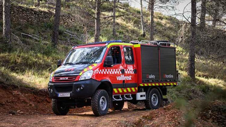 TACTICAL UNIT: Módulo multifuncional para afrontar incendios forestales