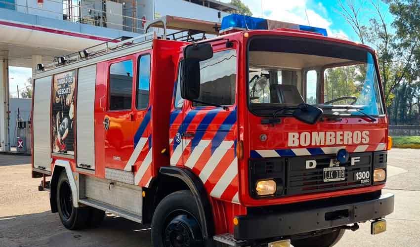 Nueva autobomba para Bomberos Voluntarios de San José Feliciano