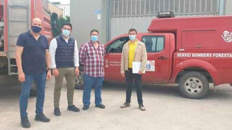 Vilamarxant: Perfilan un nuevo parque de bomberos