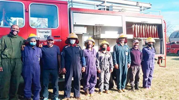 Bomberos de Santa Eleodora sumó una nueva unidad