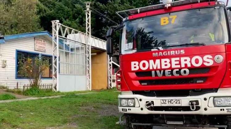 Denuncian malas condiciones del cuartel de bomberos en Mañihuales