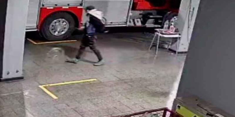 Delincuente aprovecha emergencia para robar en cuartel de Bomberos