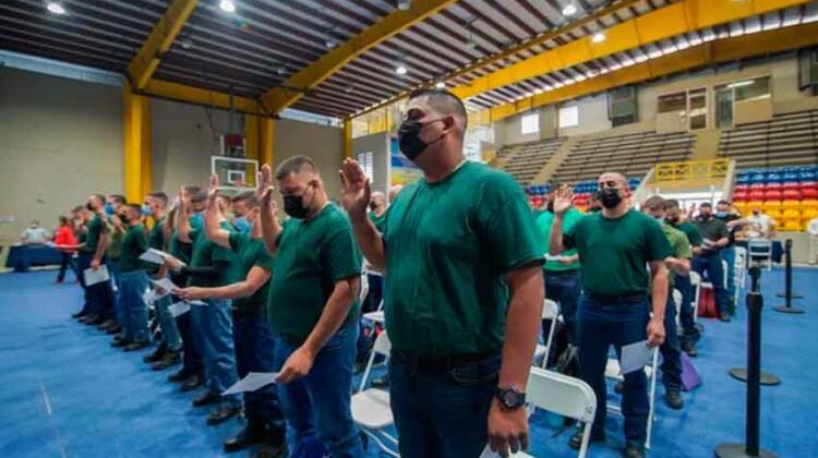 Inauguran la Academia de Bomberos con 160 cadetes