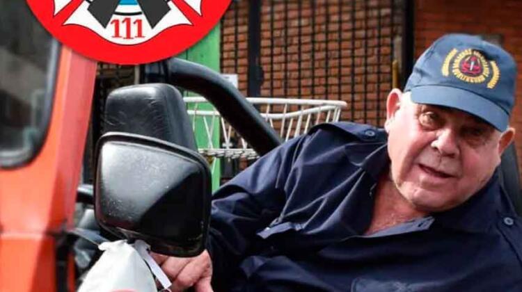 Hurlingham: Dolor por la muerte de un Bombero Voluntario
